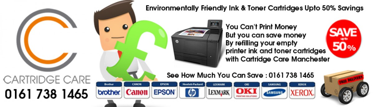 Compatible Printer Cartridges Manchester | 0161 738 1465 | Free Same Day Delivery